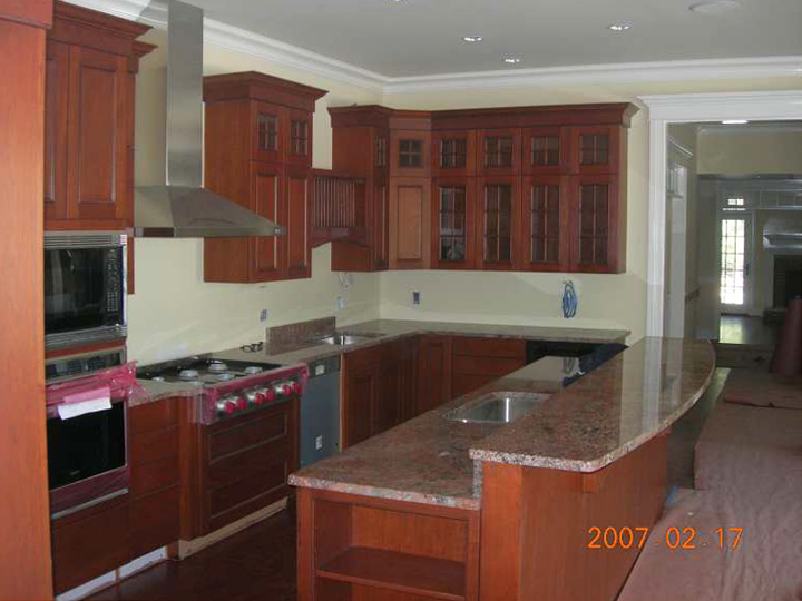 Builtmark llc residential and commercial contracting for Complete new kitchen